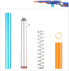 WORKER Short Dart Mod Kit for Nerf N-Strike Longstrike CS-6 Dart Blaster Modulus