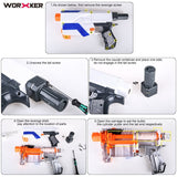 JGCWorker 7KG Modification Upgraded Spring Kit for Nerf Retaliator - Nerf Mod Kits -Worker Mod Kits