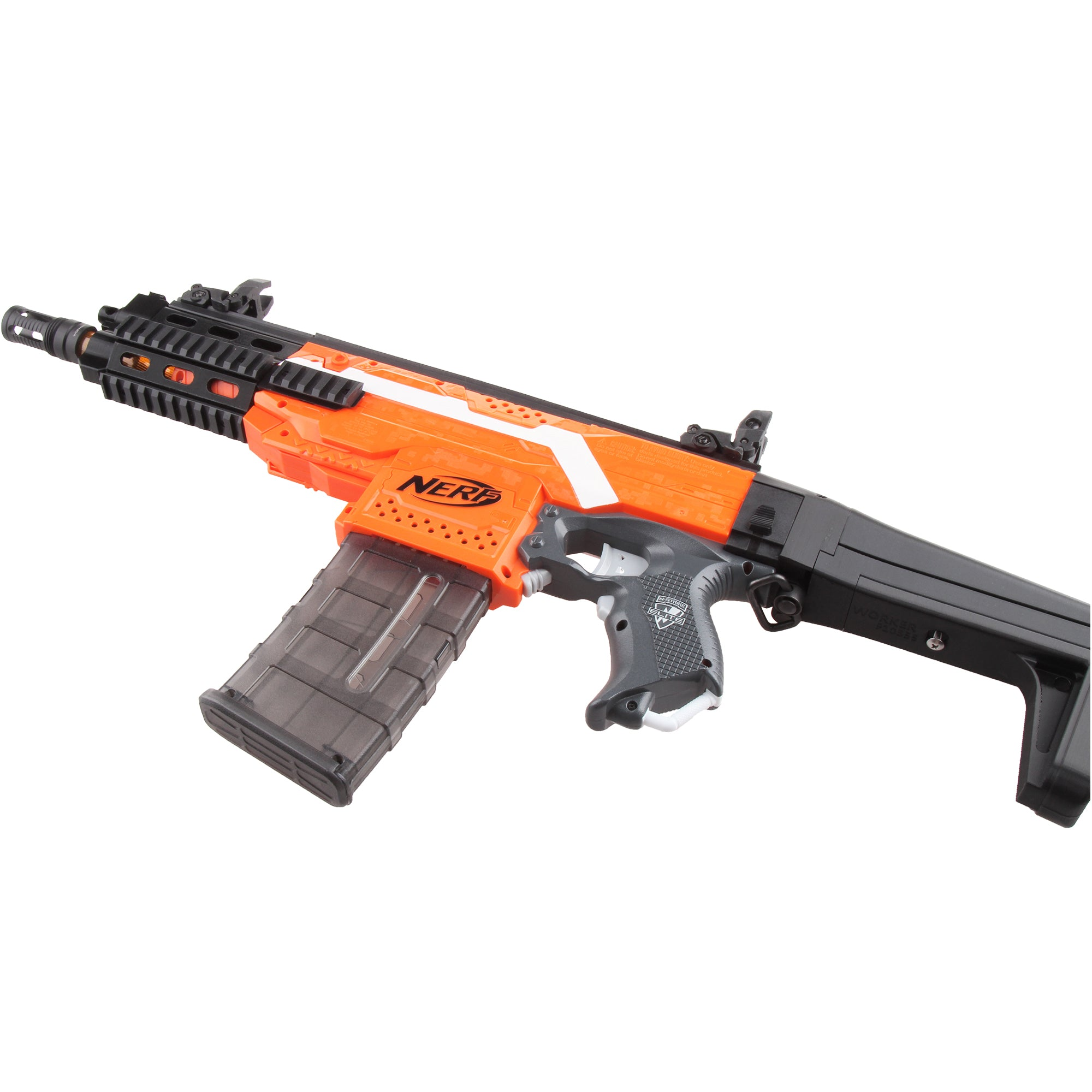 JGCWorker STF-W012-A XCR-L Micro Mod Kits Set for Nerf N-Strike Elite Stryfe Blaster - Nerf Mod Kits -Worker Mod Kits