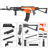 JGCWorker STF-W029-A NO.105 D Style Mod Kits Set With Orange Adaptor for Nerf N-Strike Elite Stryfe Blaster - Nerf Mod Kits -Worker Mod Kits