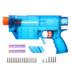 JGCWOKKER Short Dart with B Type Air Pump MCX Style PROPHECY Blaster - Nerf Mod Kits -Worker Mod Kits