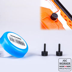 JGCWorker Thumb Screws Instant Access Battery Cover - Nerf Mod Kits -Worker Mod Kits