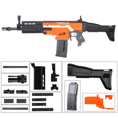 JGCWorker STF-W003 FN SCAR Mod Kits Set for Nerf N-Strike Elite Stryfe Blaster - Nerf Mod Kits -Worker Mod Kits