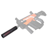 JGCWORKER ABS Plastic L Type Silencer for Nerf Blaster - Nerf Mod Kits -Worker Mod Kits