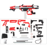 Worker F10555 No.213 Esper Blaster for Talon Magazine - Red + Black Rubber Band Toy Gun Version B - Nerf Mod Kits -Worker Mod Kits