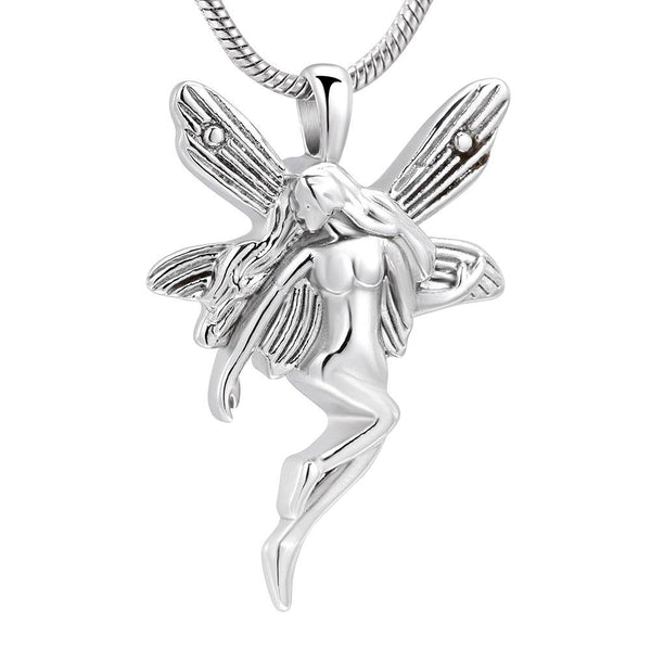 Cremation Necklace - Beautiful Fairy Cremation Urn Necklace