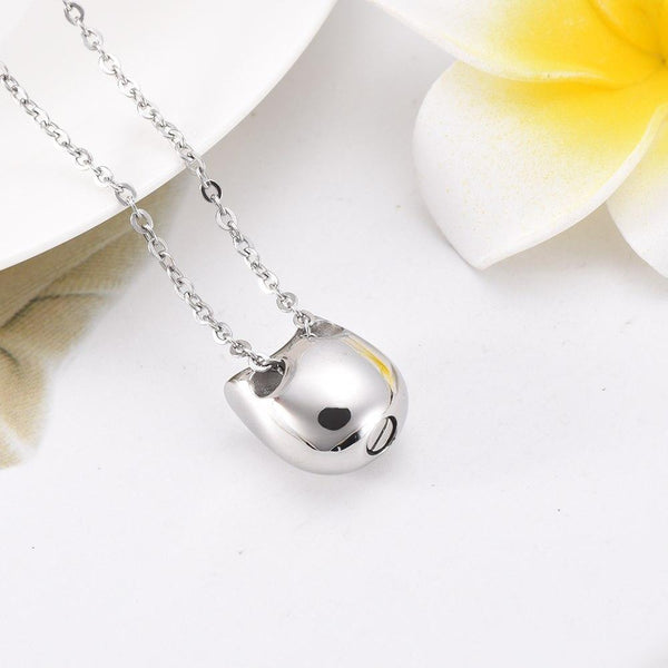 Cremation Necklace - Cat Cremation Urn Necklace