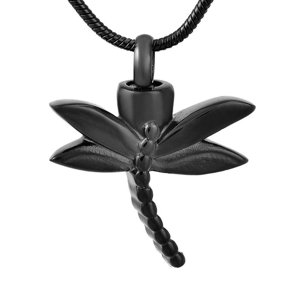 Cremation Necklace - Dragonfly Cremation Urn Necklace