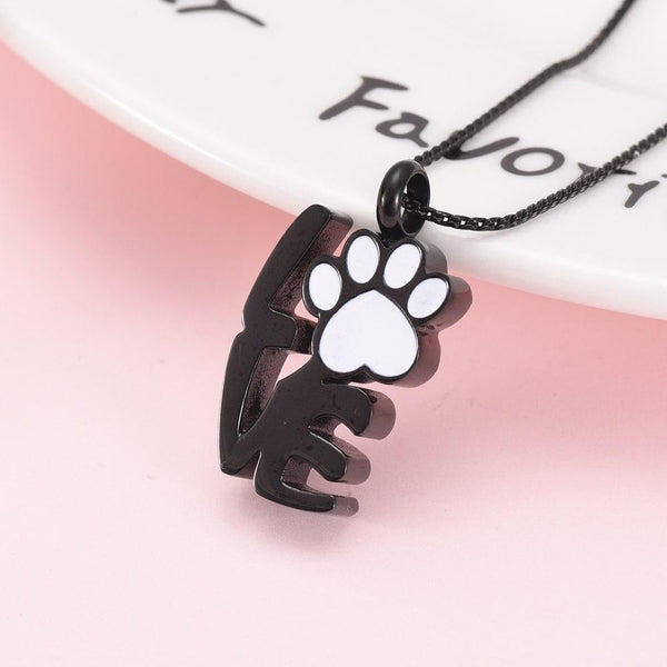 Cremation Necklace - Love Pet Cremation Urn Necklace