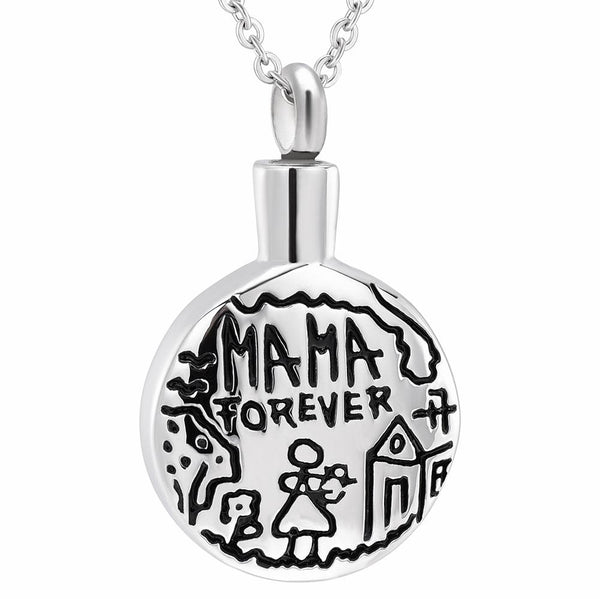 Cremation Necklace - Mama Forever Cremation Cremation Urn