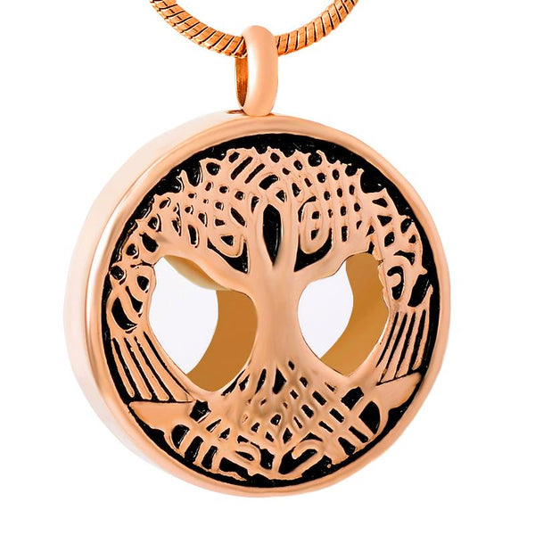Cremation Necklace - Tree Of Life Cremation Urn Necklace