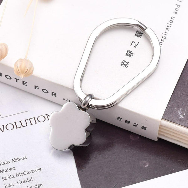 Keychain - Pet Paw Shaped Cremation Urn Keychain