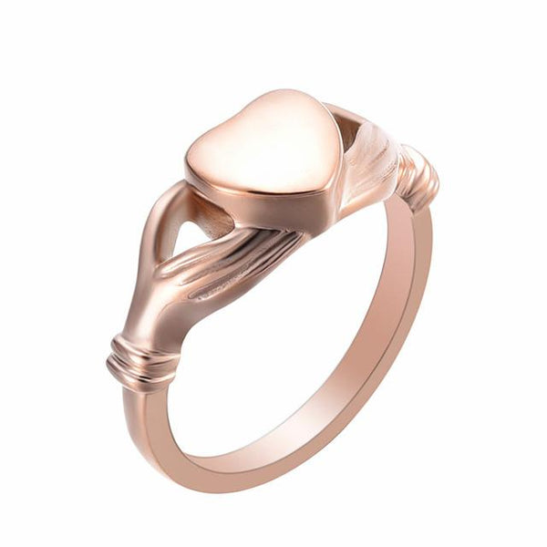 Rings - Give You My Heart Cremation Urn Ring