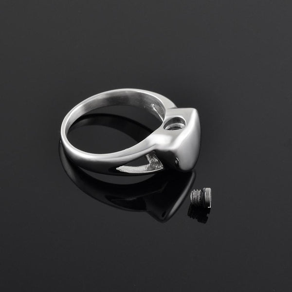 Rings - Heart Shaped Cremation Urn Ring