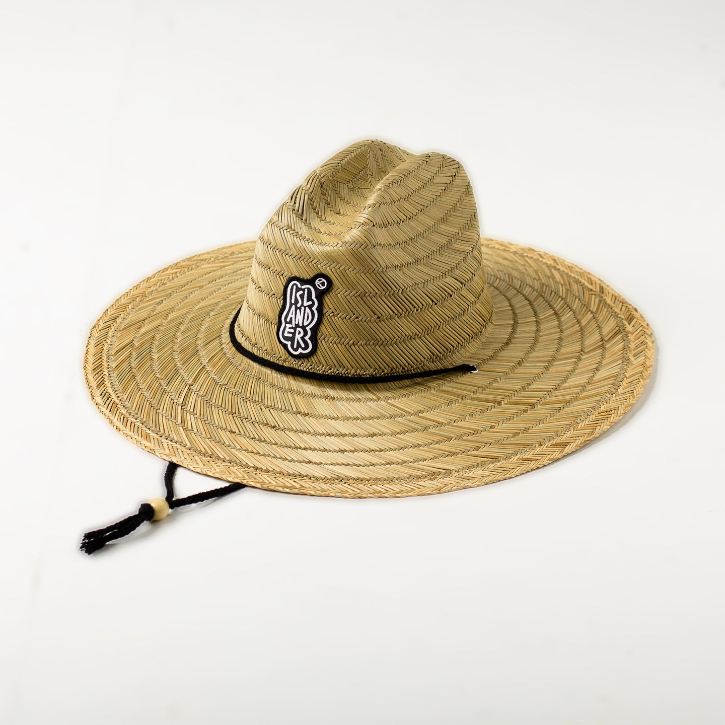Islander Straw Hat Black