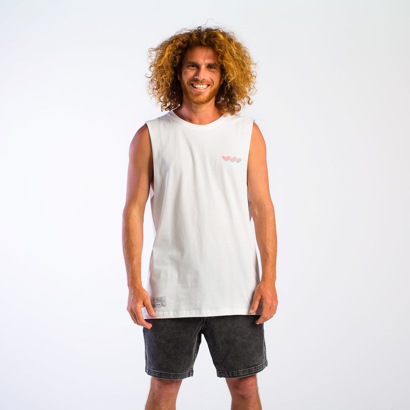 Miami Vice White Tank