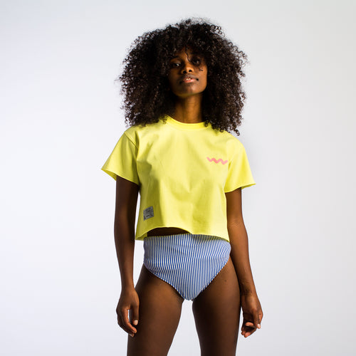 Miami Vice Yellow Crop