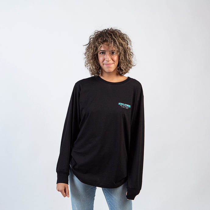 Aceplaymore Aqua Long Sleeve Tee