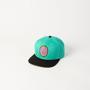 Miami Palm Tree Snapback Hat