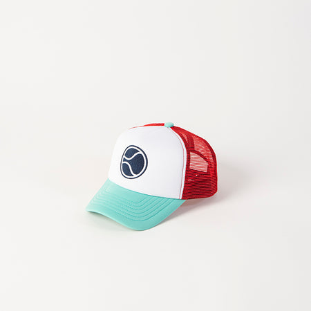 Mighty Ball Coral Trucker Hat
