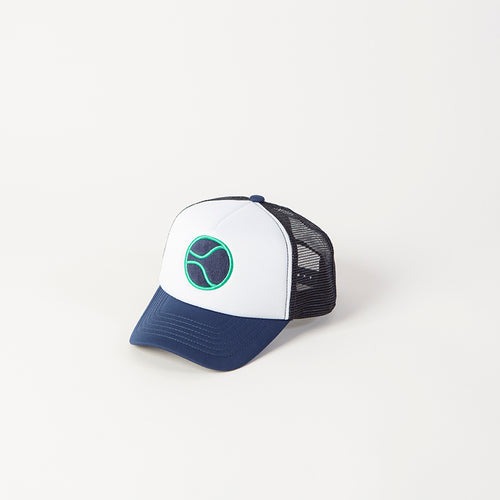 Beasty Ball Blue Trucker Hat