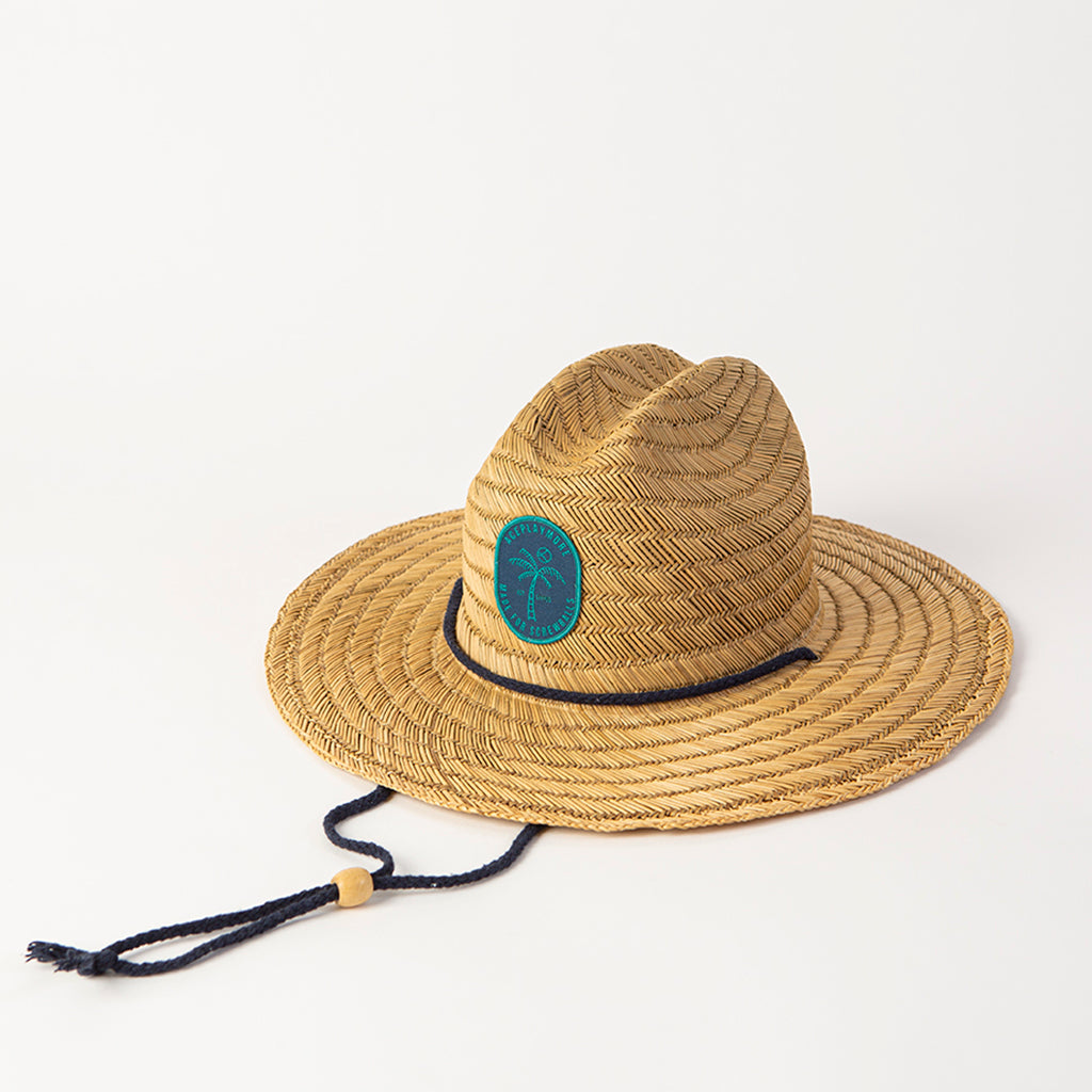 Islander Straw Hat Blue