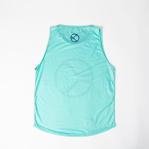 Mighty Ball Blue Tank Top
