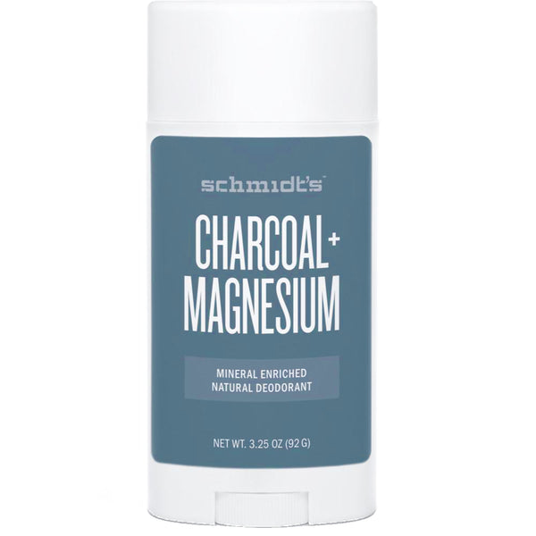 Schmidt's Charcoal + Magnesium Mineral-Enriched Deodorant