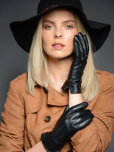 3 POINTER LADIES LEATHER GLOVES.