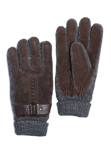 Pasha Men's Luxurious Leather Gloves