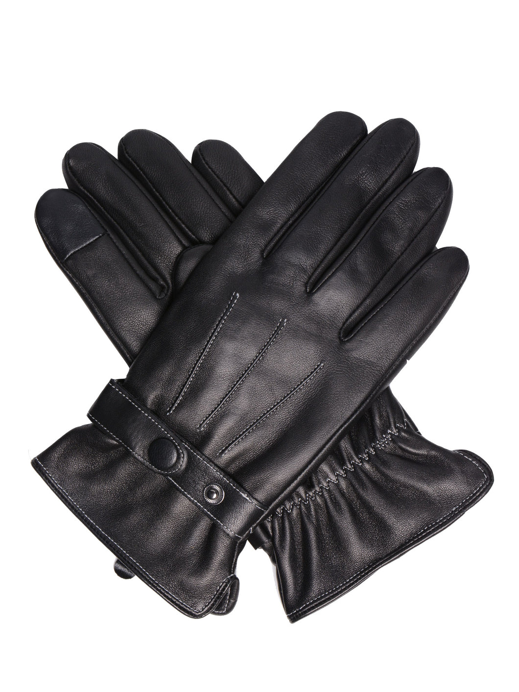 Roberto Men's Leather Driving Gloves