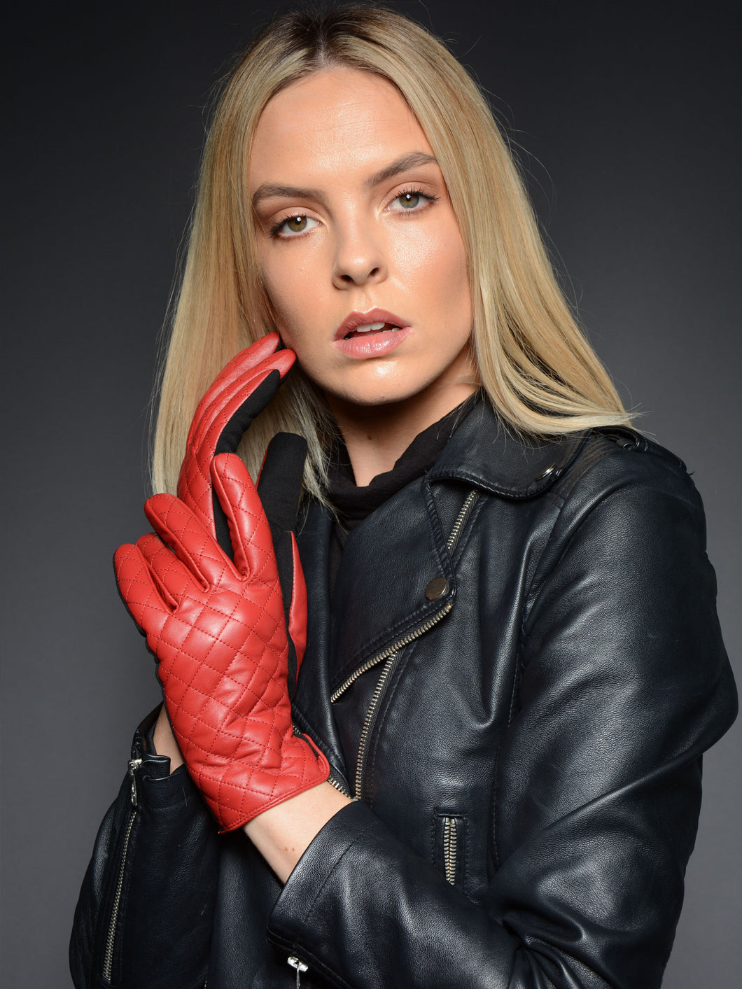 Rose Women's Leather Gloves
