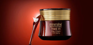 mineraline premium anti-aging Skincare with natural organic ingredients & Dead Sea minerals