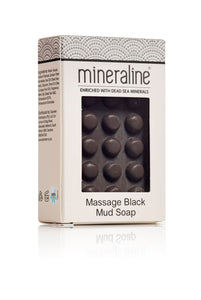 mineraline Black Mud Massage Soap