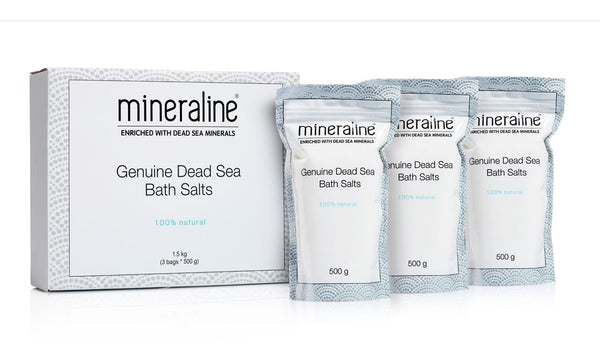 mineraline Genuine Dead Sea Bath Salts (1.5 kg)