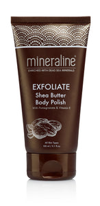 mineraline Shea Butter Body Polish