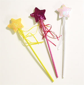 Wands - Star Shaped Sequined