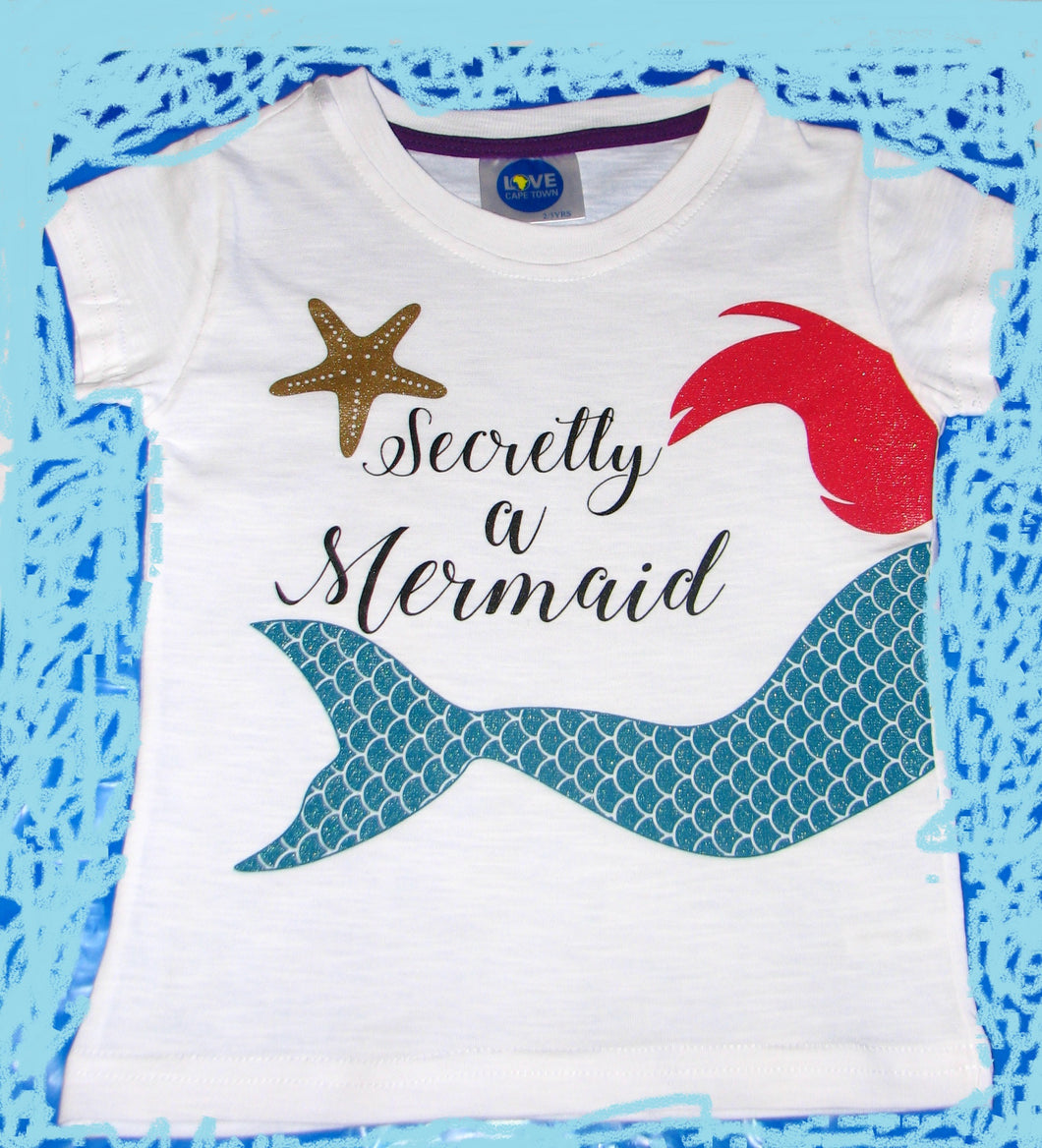 Secret Mermaid Girls T-Shirt