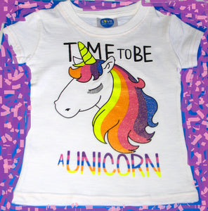 Unicorn Girls T-Shirt