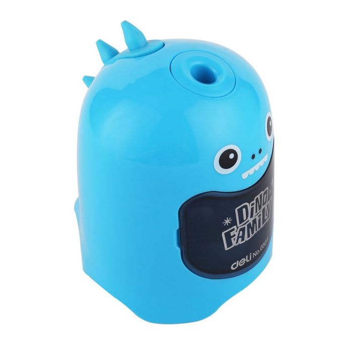 Deli cute automatic electric pencil sharpener, stationery for students!