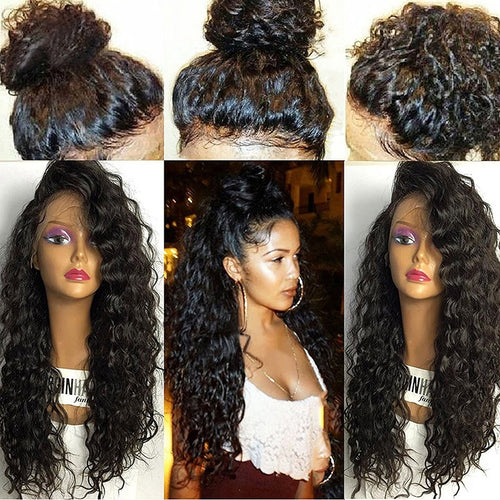Lace Front Heat resistant synthetic Hair Wigs Wet Wavy Lace Front Wigs Synthetic Hair Lace Front - icollectstore