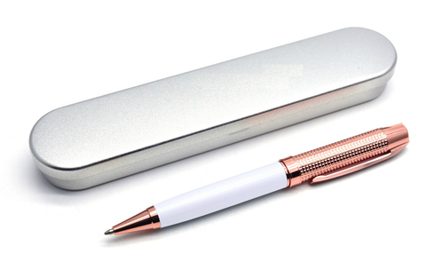 Metal Ball Point Pen Rose Gold