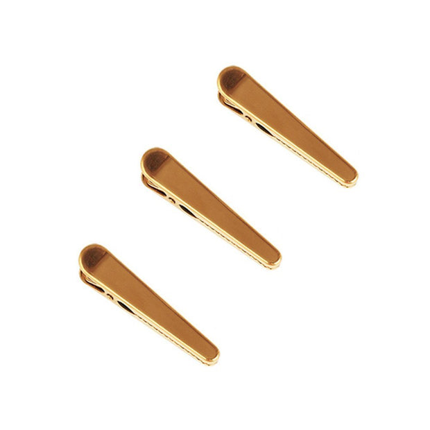Gold Bulldog Clips & Duckbill Clips