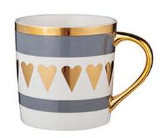 Glamor Coffee Mug: Hearts