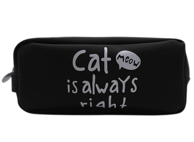 Pencil Case Cat: Cute Black