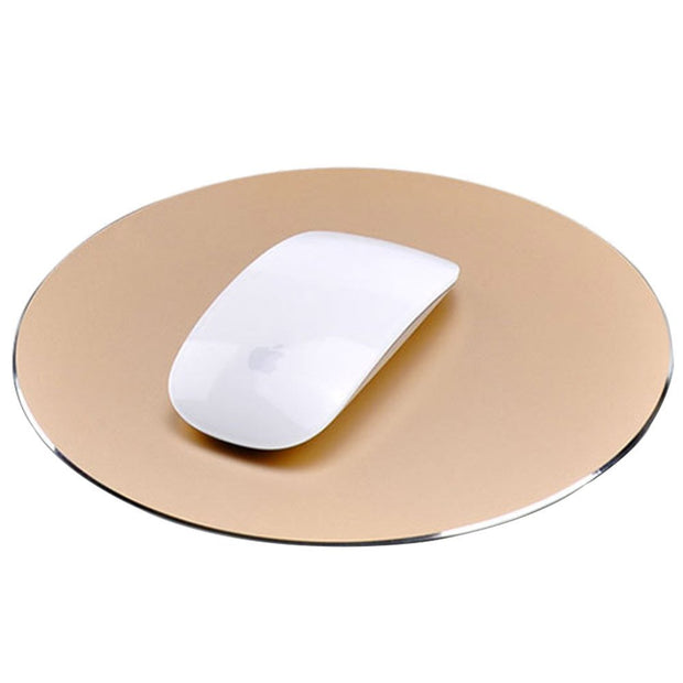 Aluminum Alloy Mouse Pad: Gold