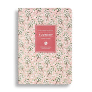 A5  Planner Notebook: White Flower