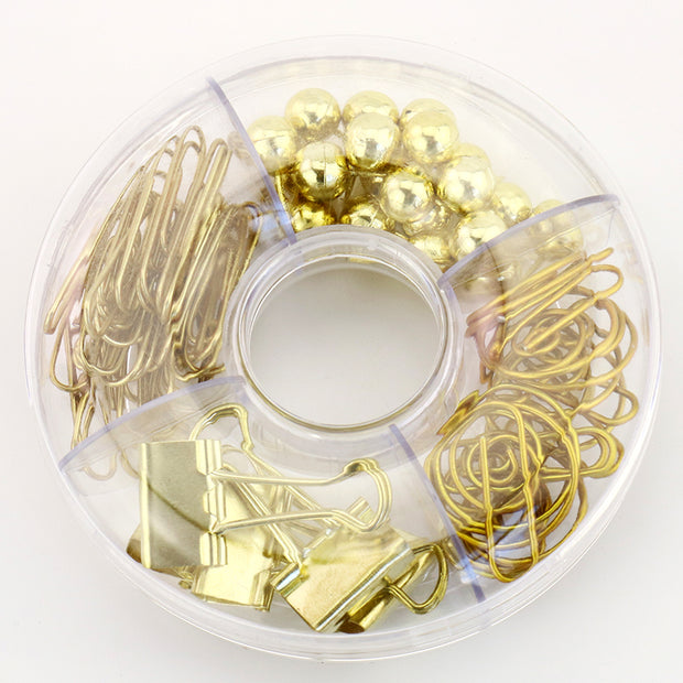 65pcs Desk Decor Paper Clips