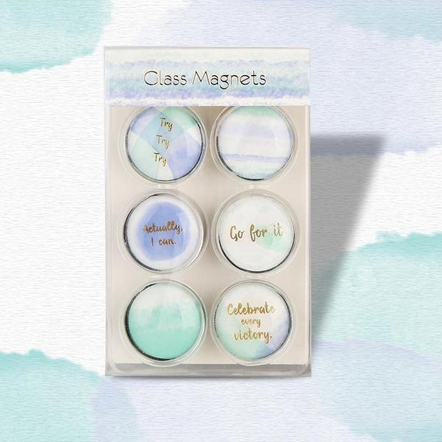 Decorative Glass  Magnets