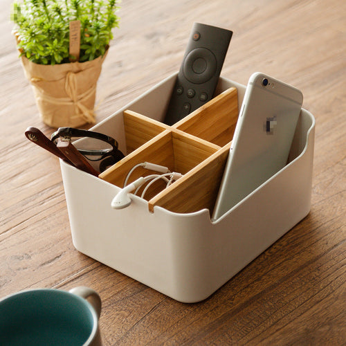 White Organizer Storage Box